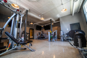 Fitness Center with many options